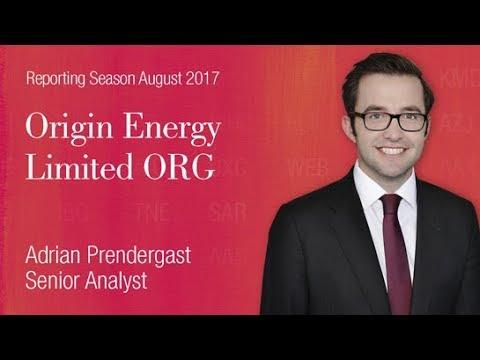 Reporting Season - Origin Energy (ASX:ORG): Adrian Prendergast, Senior Analyst