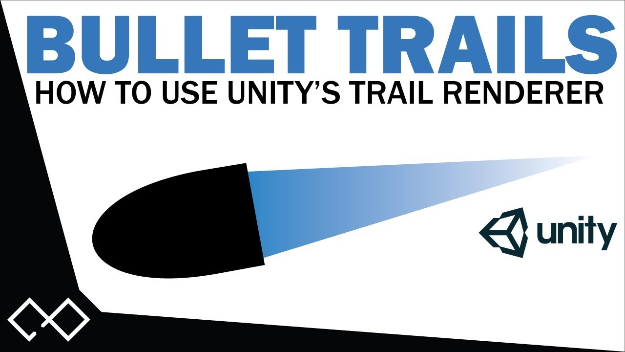 Unity Trail Renderer Tutorial - How to Create a Bullet Trailing Effect |  Unity Bullet Trail Tutorial