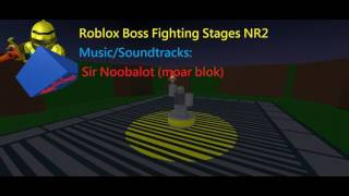 Sir Noobalot Phase 2 - Roblox Boss Fighting Stages NR2 Music/Soundtrack HD