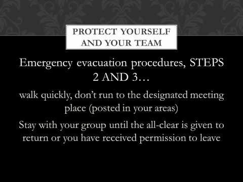FALL 2012 3 HSE Orientation Personal Safety narrated