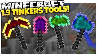 Minecraft 1.9 | MAGIC OP TOOLS | TINKER'S CONSTRUCT (Minecraft Custom Command)