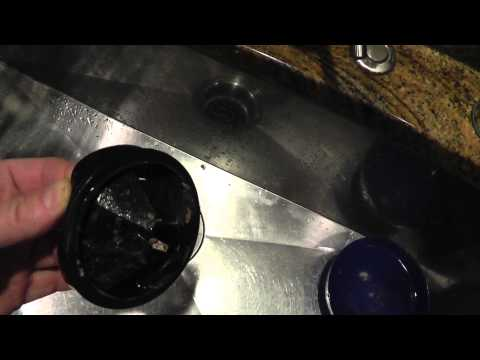 How to get rid of smell from kitchen sink - YouTube