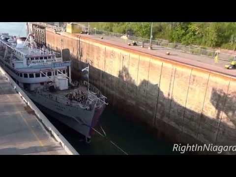 "Final Voyage: ""Captain John's"" ship JADRAN at Lock 3"
