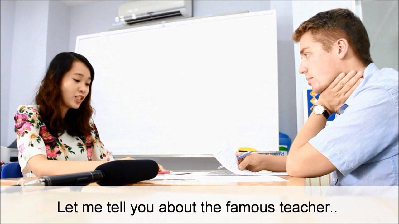 Chấm điểm bài thi IELTS SPEAKING
