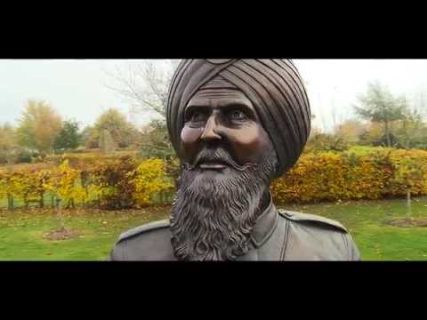 UK's First WW1 Sikh Memorial Unveiled (Trailer)
