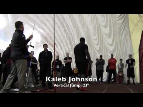 Kaleb Johnson Baltimore Ravens Pro Day
