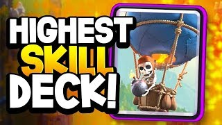 """BEST """"HIGH SKILL"""" DECK in Clash Royale 2019 