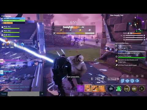Fortnite Save The World | Power Base Kyle Constructor Hero Gameplay