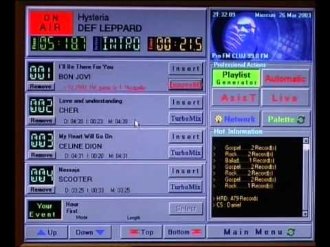 Studio 2000 Radio Automation Software v2000 - DJ Console (M2)  QSound SOFT