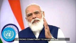 🇮🇳 India - Prime Minister Addresses General Debate, 75th Session