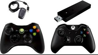 Controles de Xbox 360 e One no PC Sem Fio Tutorial