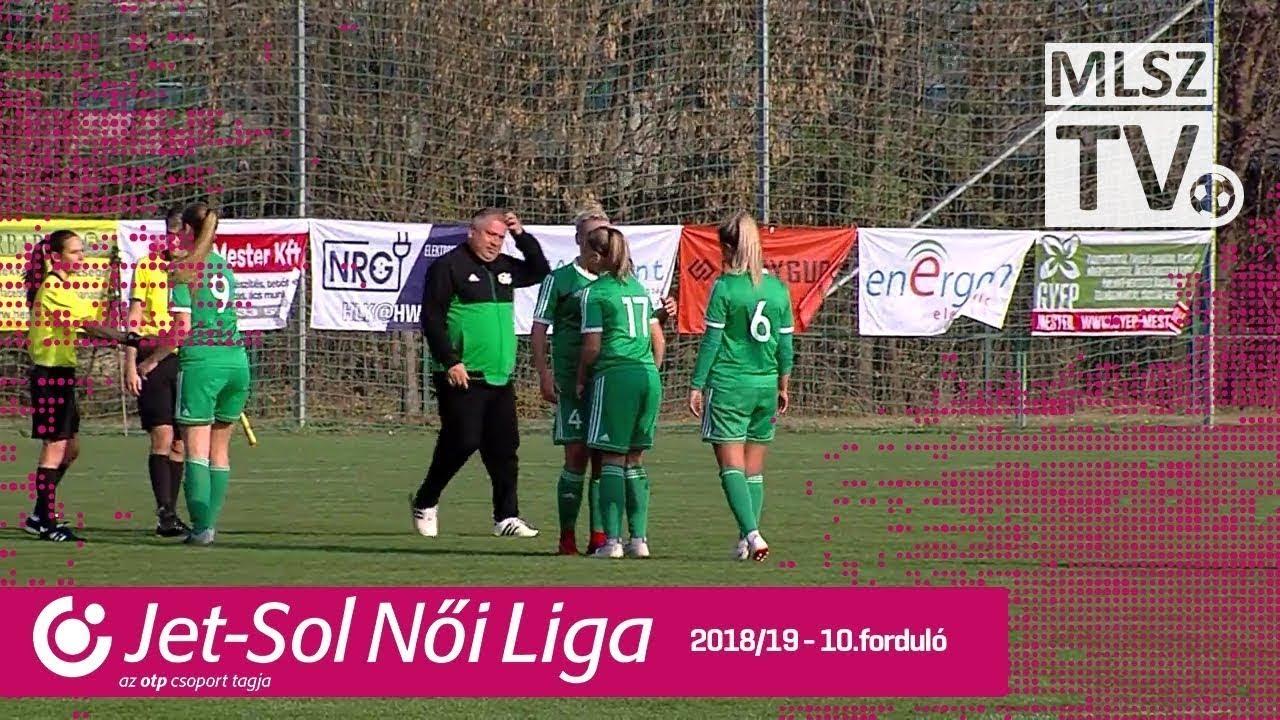 ASTRA-ALEF HFC - Haladás Viktória | 1-3 | JET-SOL Liga | 10. forduló | MLSZTV