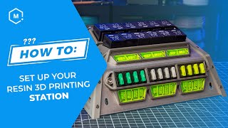 How To: Set Up Your SLA 3D Printing Work Station