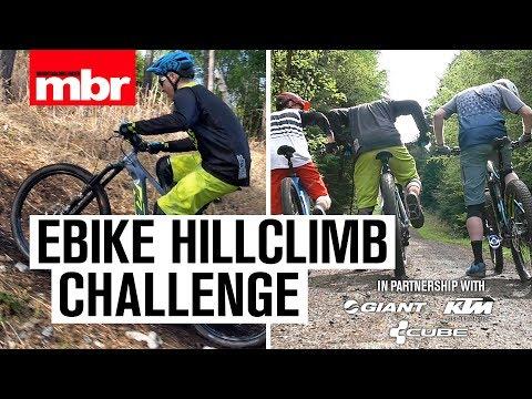 Hill Climb Challenge on e-Bikes   Mountain Bike Rider