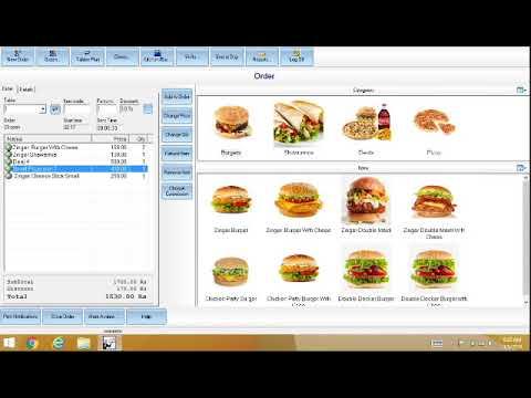 Restaurant Hotel Cafe Bar Fast Food Ice Cream Shops Software Pos Pakistan