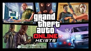 Grand Theft Auto Online – Heists Trailer