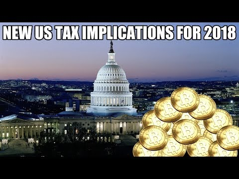 US Tax Changes And Cryptocurrency Exemptions 2018