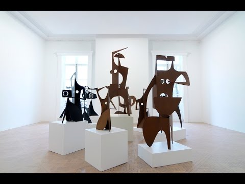 Opening Of The Philippe HIQUILY Exhibition At Galerie Laurent STROUK