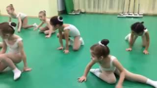 Дарья Полехина! - Открытый урок! Студия танца СОЛНЫШКО!!! Январь 2017 г.