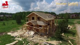 Как мы строим дома в ''Золотых соснах'' - весна 2016