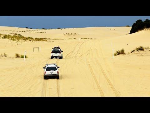 4x4 at Yeagarup Dunes, D'Entrecasteaux NP - Traveling Australia XVII