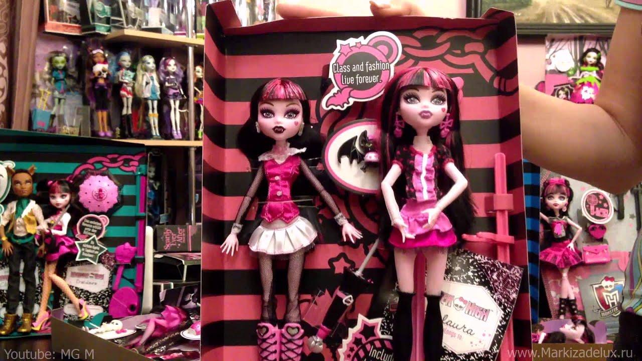 Куклы Монстер Хай обзор (Monster High) Школа Монстров (#31 - моя .