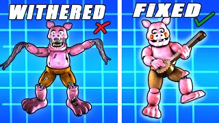 Fixed VS. Withered Mediocre Melodies Ultimate Custom Night FFPS Animatronics [SFM FNAF]