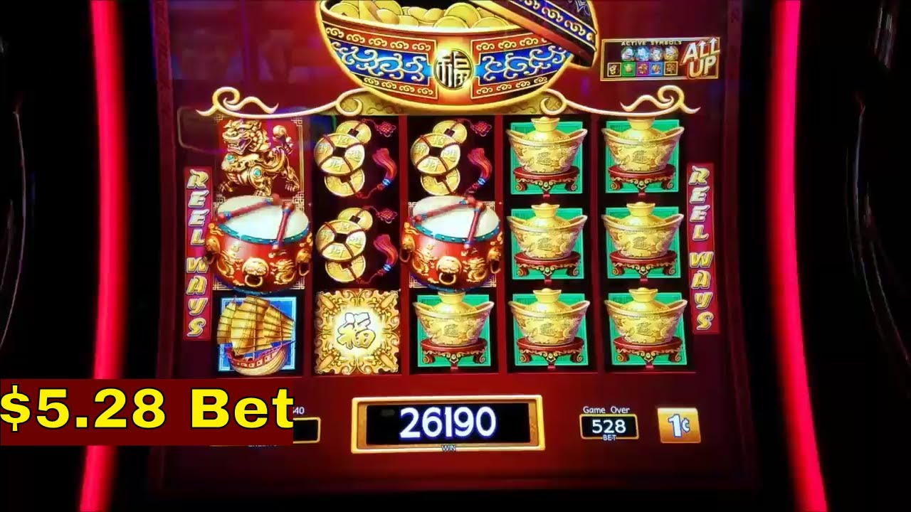 Dancing Drums Slot Machine Bonuses Win And Progressive