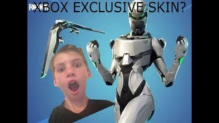 New XBOX EXCLUSIVE skin| Fortnite Battle Royale| Solo Gameplay!