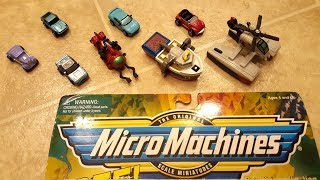 Micro Machines Mini Video - #1 Shipwreck Salvage 5 Car Collection by Galoob