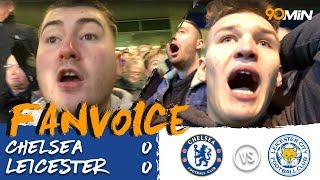 Chelsea 0-0 Leicester | Chilwell red card means 10-men Leicester draw to Chelsea! | FanVoice