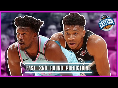 NBA Eastern Conference 2nd Round Predictions (Celtics Raptors, Heat Bucks)