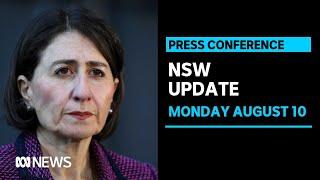 WATCH LIVE: Gladys Berejiklian's COVID-19 press conference - Monday August 10 | ABC News
