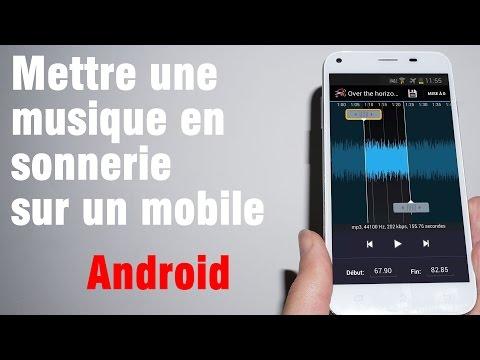 Tuto: Comment mettre une musique en sonnerie sur un mobile Android