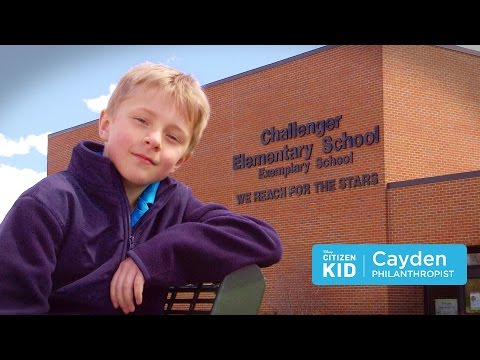 Cayden, a Philanthropist | Citizen Kid by Disney