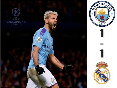 Goals And Highlights | Manchester City 1-1 Real Madrid | Uefa Champions League | Prediction Fifa 20