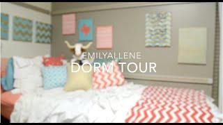 College Dorm Room Tour 2015