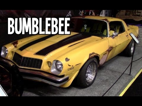 Movie cars Transformers Bumblebee 1977 Chevrolet Camaro  YouTube