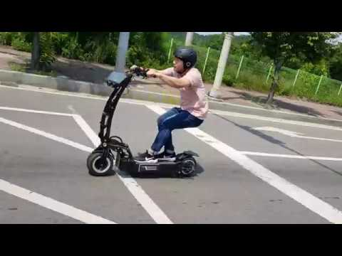 electric scooter weped rr test youtube. Black Bedroom Furniture Sets. Home Design Ideas