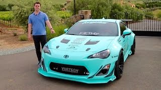 Review: Tiffany The Supercharged Rocket Bunny Scion FRS!