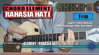 Download lagu Chord Gitar Element Rahasia Hati MP3