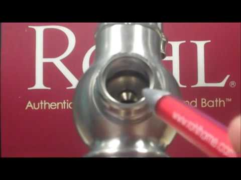 how to replace a cartridge in a rohl perrin rowe u 4766 kitchen faucet