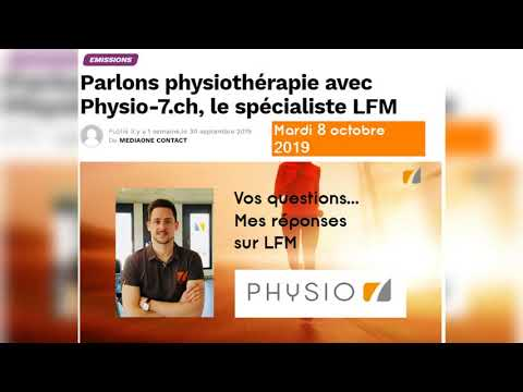 Interview et questions: LFM radio le spécialiste Physio 7 tendinopathies