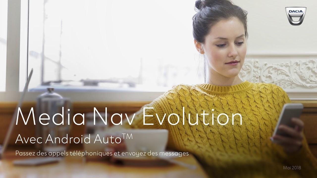 Dacia Media Nav Evolution avec Android Auto