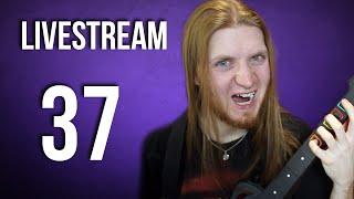 LIVE STREAM #37 – Pizza, Guitar Hero, Pogadanka