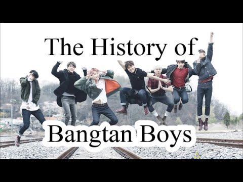 The History of Bangtan Boys 1/2