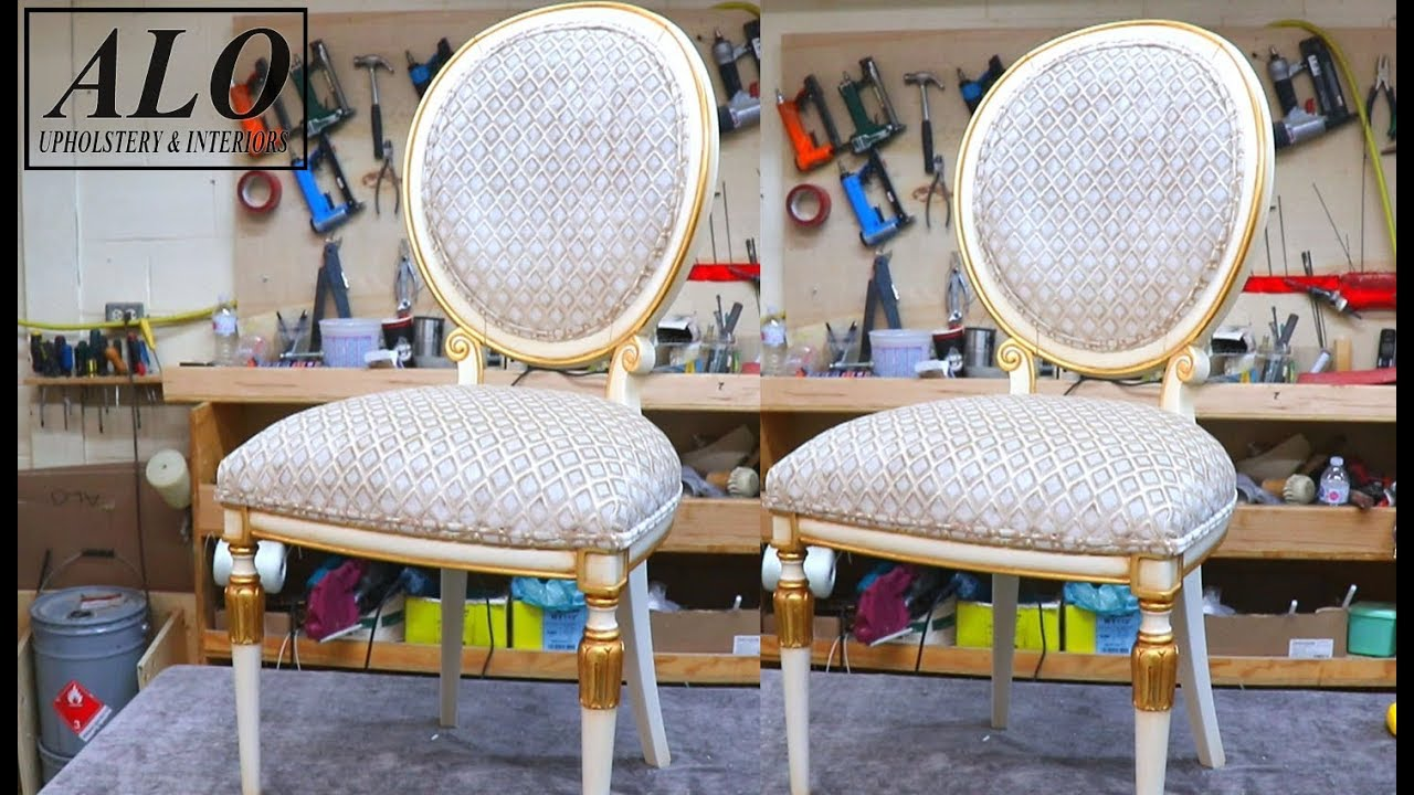 Diy How To Upholster A Dining Room Chair Alo Upholstery