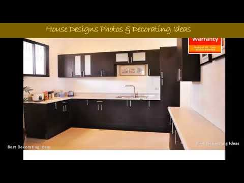 Kitchen Countertop Design Philippines | Modern Cookhouse Area Design Pic  Collection For