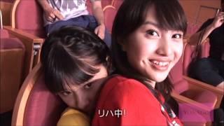 かなこちゃんと一緒で幸せなしおりん♪ そんなももたまいの映像(^_^;) も...