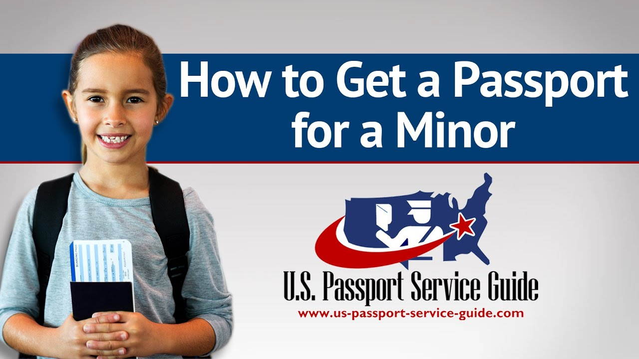 How to get a passport for a minor youtube falaconquin